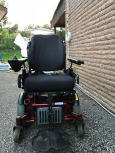 motorized power wheelchair from sunrise medical Quckie xperience