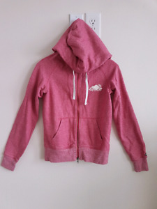 Roots pinks hoodie. Size S