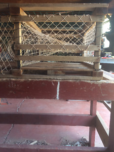 Used Square Lobster Traps for Sale