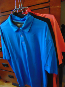 3 Nike/Tiger Woods Collection Golf Shirts