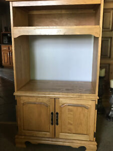 Solid Wood T.V. Stand