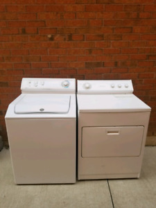 Washer and dryer  $120 set