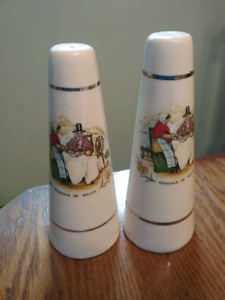 Salt and Pepper Shakers from Wales