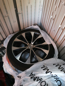 2013 Honda Civic Si rims 17 inch