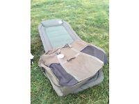 NEW Leeda Rogue Bedchair Plus Bag