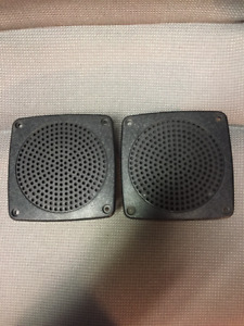 Vintage Clarion 4.5 Inch car speakers