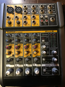 TAPCO (Mackie) Blend 6 Mixer (6 Channel)