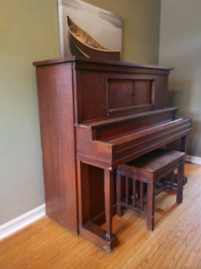 Weber Stand-up Piano
