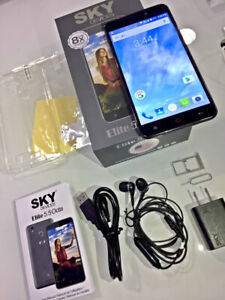 SKY Devices Elite 5.5' Octa Unlockd, Full Hd, 16gb,, Ultra fast