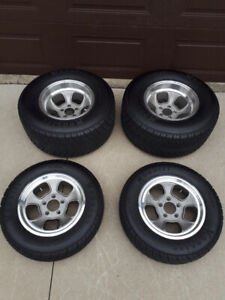 Complete Set of of ET (by Team III) Wheels
