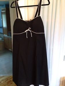 Belle robe stretch noir