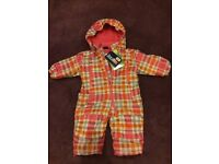 NEW Lupilu snowsuit for 2-6months old girls