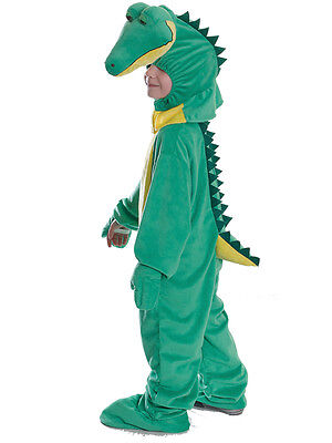 Boys Girls Dinosaur Crocodile Kid Fancy Dress Costume Alligator Book Week