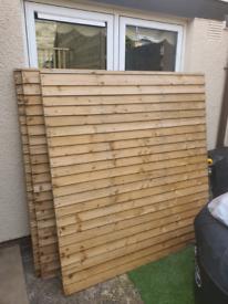 Heavy duty fence panels