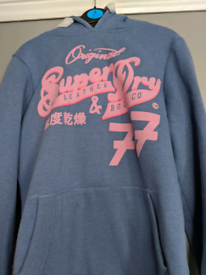 SUPERDRY HOODIE SIZE SMALL