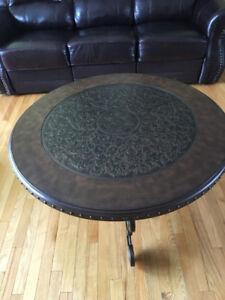 TABLES DE SALON RONDE