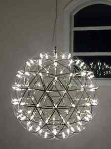 Contemporary Chandelier  30 Inch Diameter