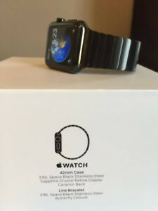 Apple Watch 42mm Space Black Stainless Steel - BEST DEAL