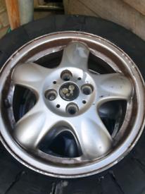 Mini alloy wheel 16 inch