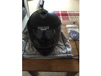 Shark size L motorcycle helmet