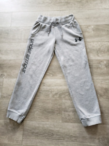 Excellent used condition youth large under armour jogging pants