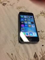 Black iPhone 5s 16GB with Telus/Koodo