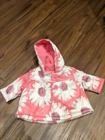Pink foral jacket