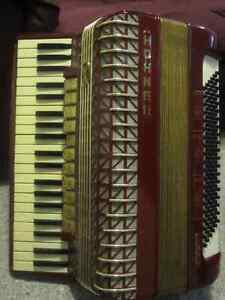 Hohner Atlantic lV Deluxe Accordion Red London Ontario image 4