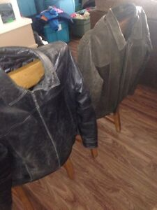 Two leather jackets London Ontario image 1
