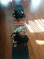 Rabais | Discount Forum Manual Snowboard avec Fixation.