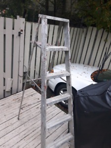 Alluminum step ladder