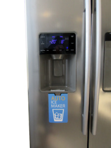 BRAND NEW S/S Refrigerator With Water Dispenser/Side-by-Side