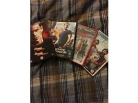 Bourne DVD's and two comedies