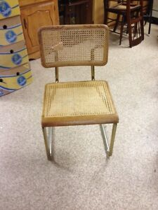 6 Cane Chairs