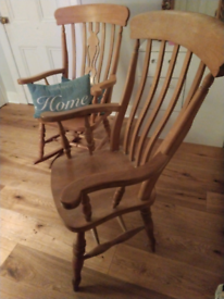 Wooden Carver Kitchen Dining Living Room Chair