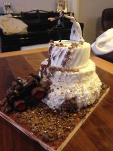 engagement/wedding cake