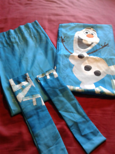 Olaf frozen curtains