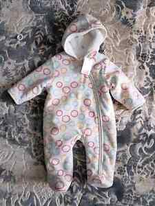 Brand new with tags soft snowsuit