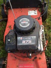 Sovereign 375 petrol lawnmower