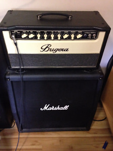 Bugera VH55 Head and Marshall 4x12 Cab