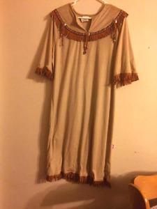 Simple but beautiful native american dress. Need gone ASAP!