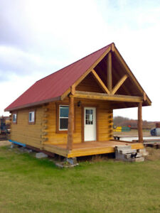 Log Cabin to be moved w/Delivered Price