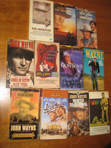John Wayne VHS Movies