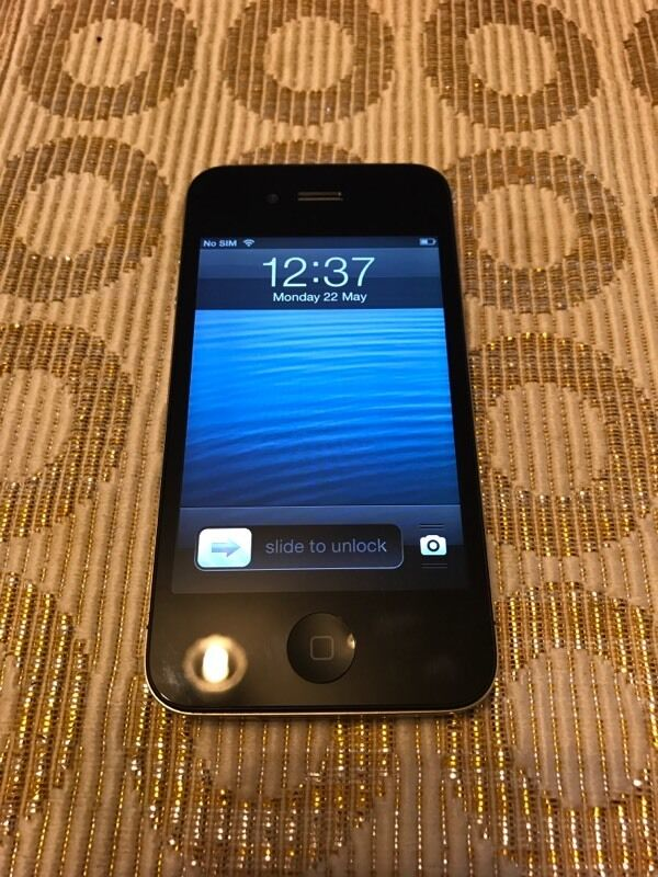 iPhone 4 IOS 6.1.3 Rare On O2in Northolt, LondonGumtree - iPhone 4 , great condition , 16 gb , iOS 6.1.3 , lock on O2 , I want to sale
