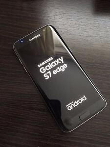 Unlocked 32GB Black Samsung Galaxy S7 Edge