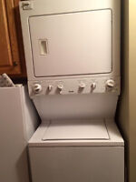 ****SOLD****STACKING WASHER AND DRYER