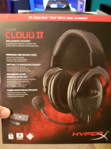 Hyper cloud 2, pro gaming headset