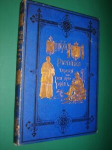 SPANISH PICTURES-  Gustave Dore- 1870- 1st. Edition