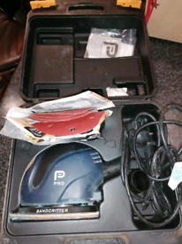 Electric sander in box. Can post.