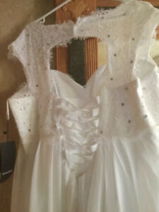 Wedding Gown Size 18 Never Worn